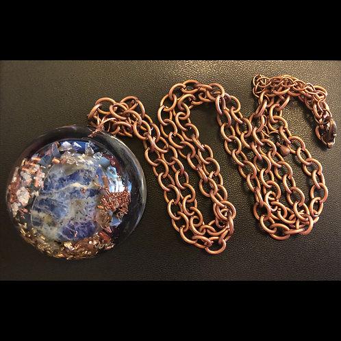 Sodalite Orgonite Necklace