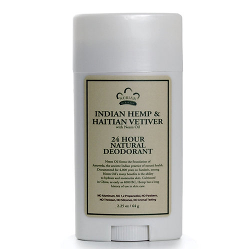 Indian Hemp & Haitian Vetiver Deodorant