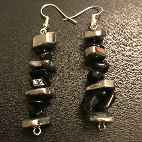 Hematite & Obsidian Matrix