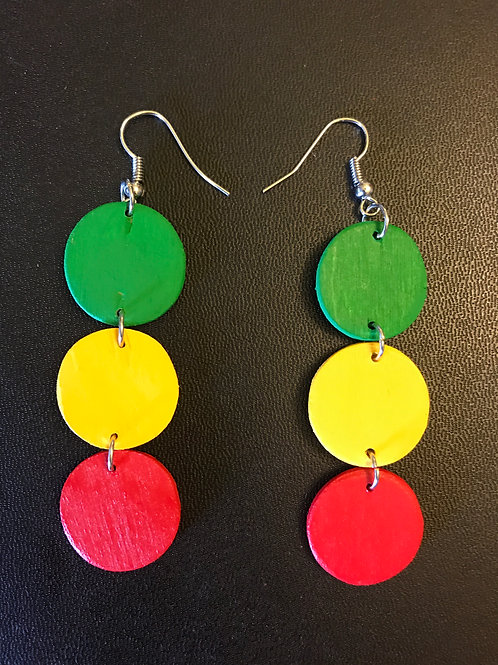 Circle of Life Mini Earrings