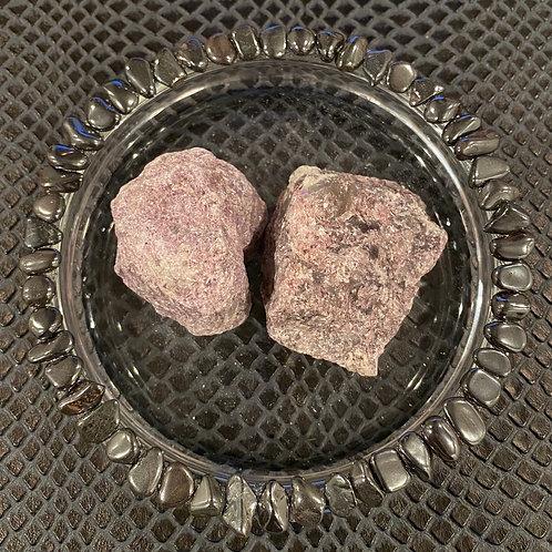 Large Raw Lepidolite