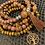 Thumbnail: Fur Jasper Bohemian Bracelet Set