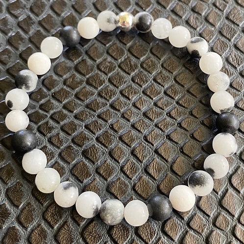 Matte Agate Healing Bracelet