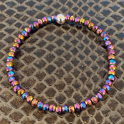 Rainbow Hematite Healing Bracelet