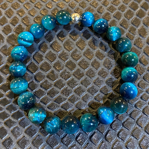Turquoise Tiger Eye Healing Bracelet