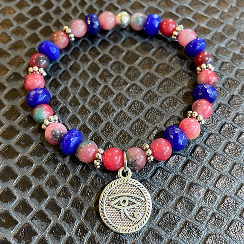 Jade Eye of Horus Healing Bracelet