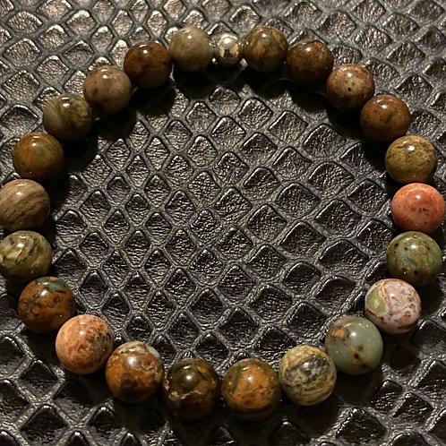 African Green Opal Healing Bracelet
