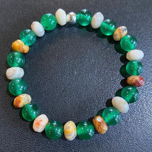 Jade & Agate Healing Bracelet