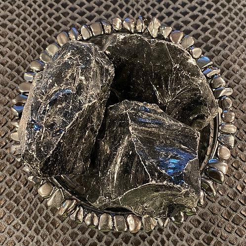 Large Raw Obsidian