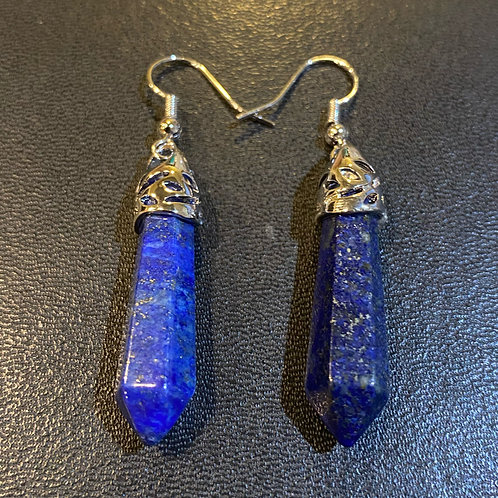 Lapis Lazuli Tower Earrings