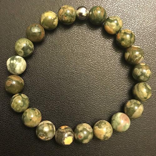 Rhyolite Healing Bracelet
