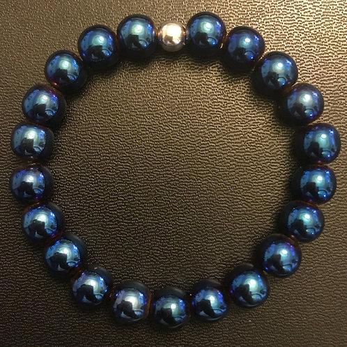 Blue Hematite Healing Bracelet