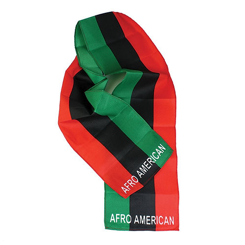 Afro-American Flag Scarf