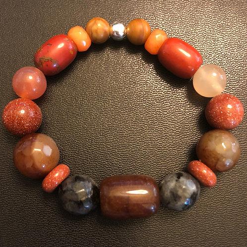 Multi-Stone Healing Bracelet