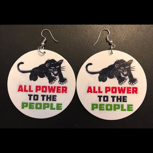 All Power To The People Earrings