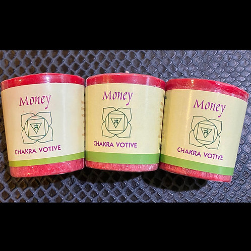 Money Chakra Votive