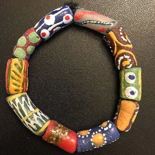 Ghana Trade Bead Bracelet