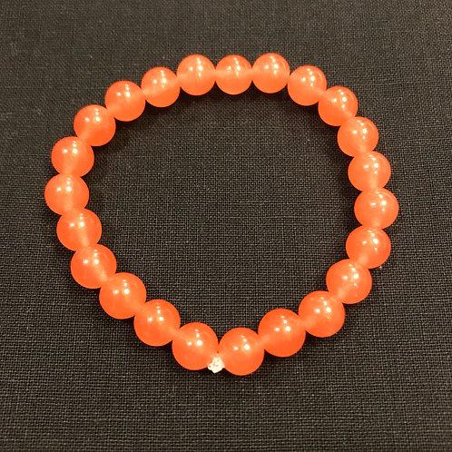 Salmon Jade Bracelet