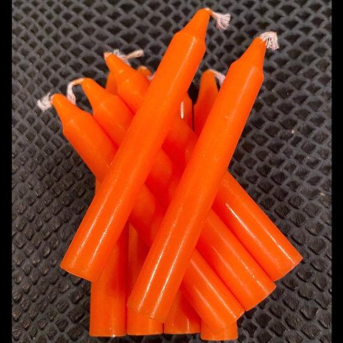 Orange Healing Candle
