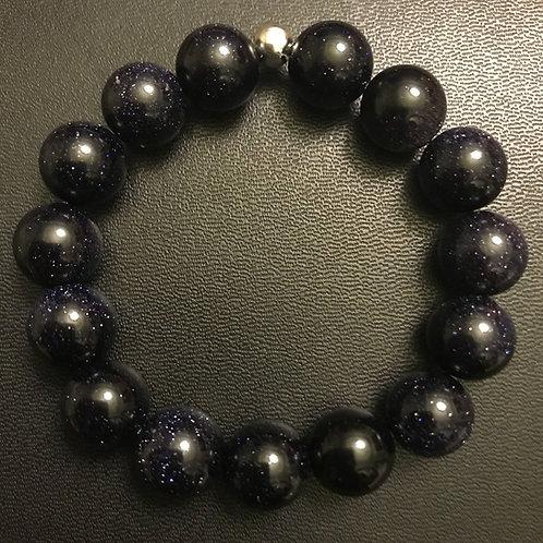 12mm Sandstone Healing Bracelet
