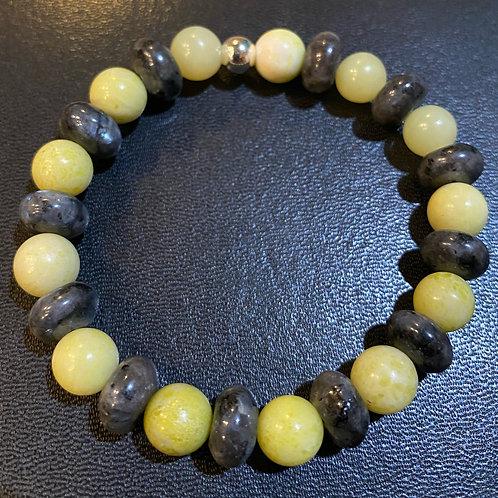 Peridot & Labradorite Healing Bracelets