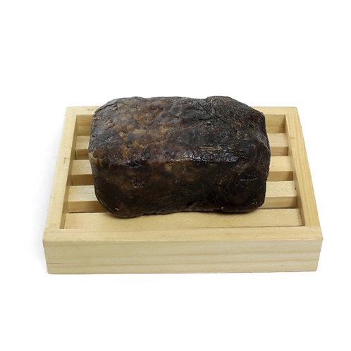 Raw Natural Black Soap Bar