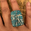 Thumbnail: Chrysocolla Wrapped Ring