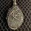 Thumbnail: Green Garnet Wire Wrapped Necklace