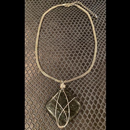 Astrophyllite Mesh Necklace