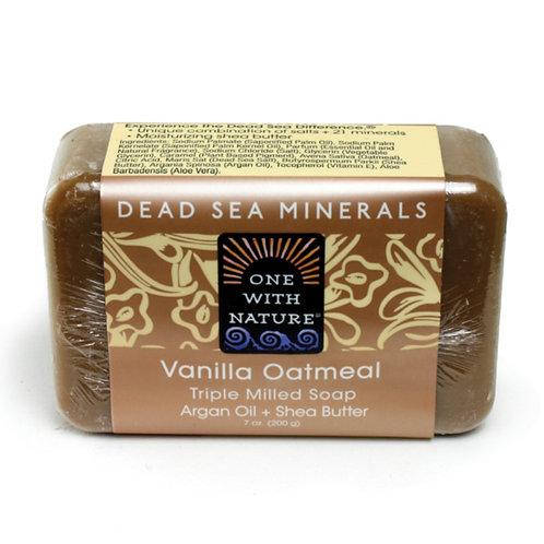 Dead Sea Minerals Vanilla Oatmeal Soap