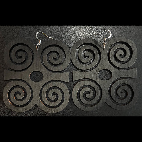 Dwennimmen Adinkra Earrings