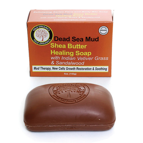 Dead Sea Mud Shea Butter Healing Soap