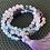 Thumbnail: Opalite, Amethyst & Rose Quartz 108 Mala Bead Necklace
