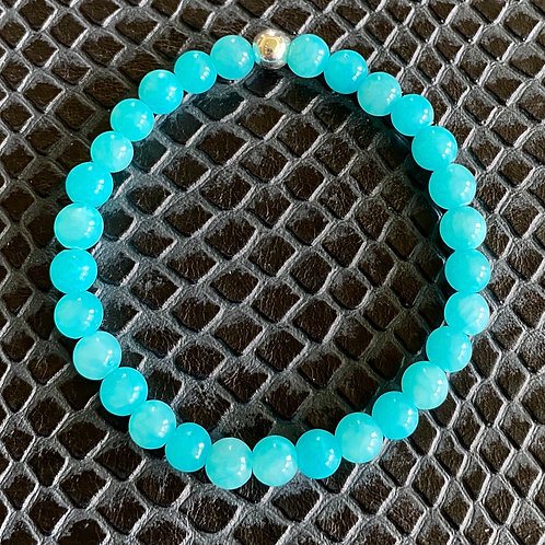 Blue Sponge Quartz Healing Bracelet