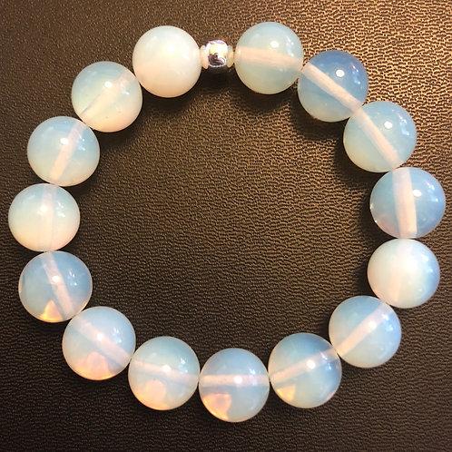 12mm Opalite Healing Bracelet