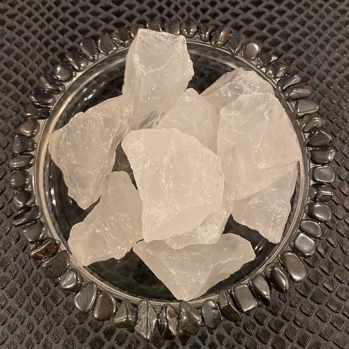 Medium Raw Clear Quartz Crystals