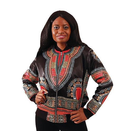 Women's Traditional Print Jacket