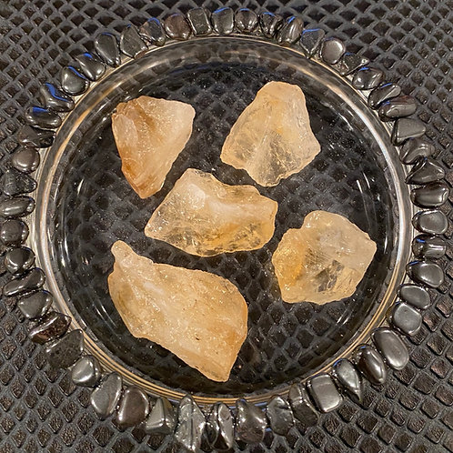 Raw Yellow Calcite