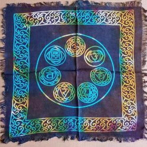 7 Chakra Altar Cloth
