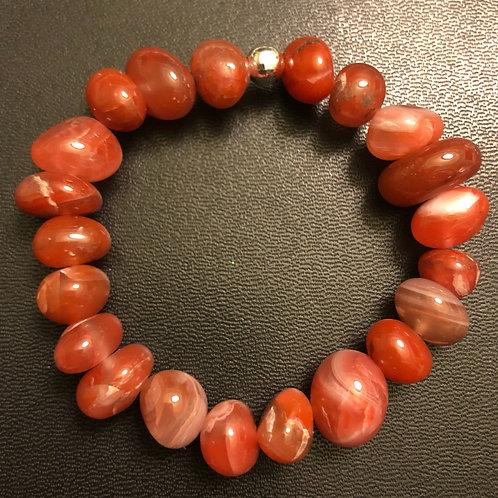 Carnelian Stone Healing Bracelet