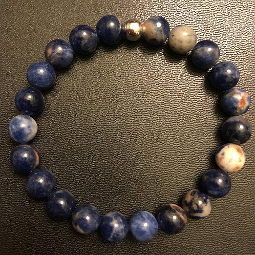 Orange Sodalite Healing Bracelet