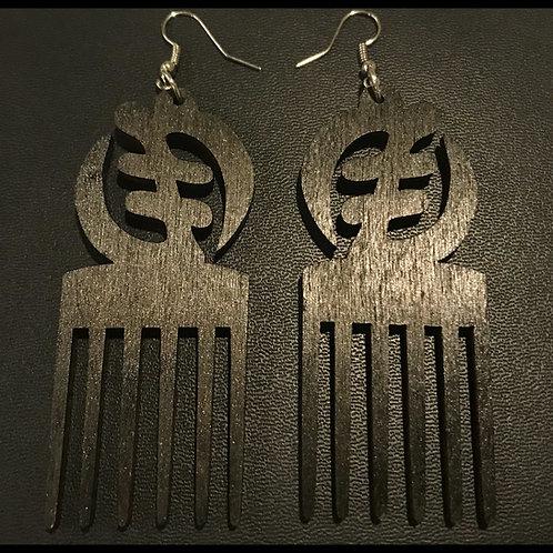 Gye Nyame Pick Earrings