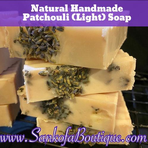 Natural Handmade Patchouli (Light) Soap