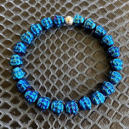 Happy Buddha Hematite Healing Bracelet