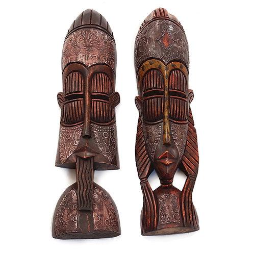 Gambian Mask Set