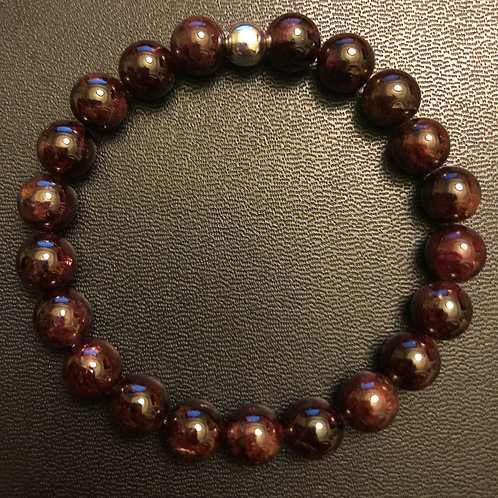 Red Garnet Healing Bracelet