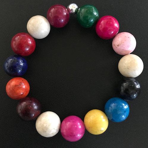 Jade 12mm Bracelet