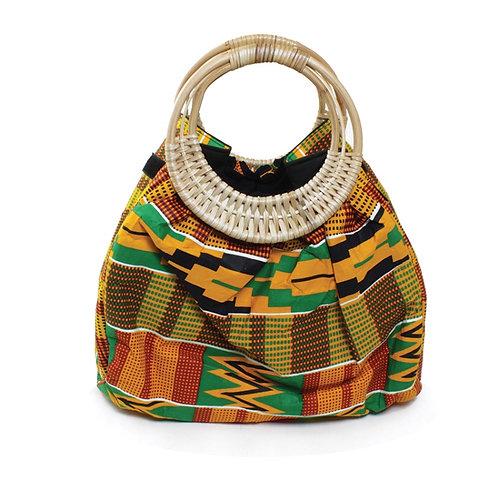 Colors of Kente Bag