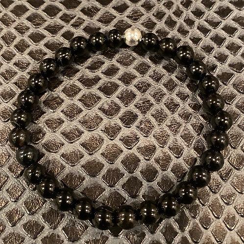 Black Agate Healing Bracelet