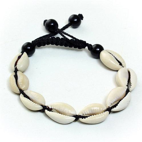 Black Cowrie Bracelet
